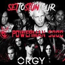 Orgy and Powerman 5000 - San Jose, CA - on Sun Jan 29 ...