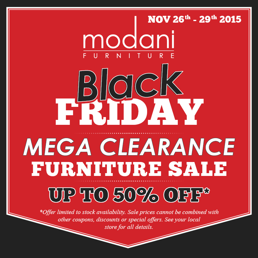 Modani's Annual Black Friday Sale!