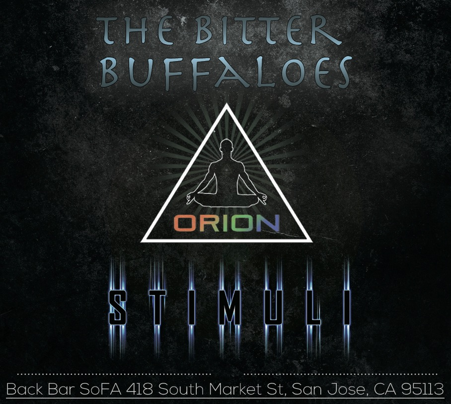 Orion stimuli the bitter buffaloes san jose ca on for Back bar sofa san jose