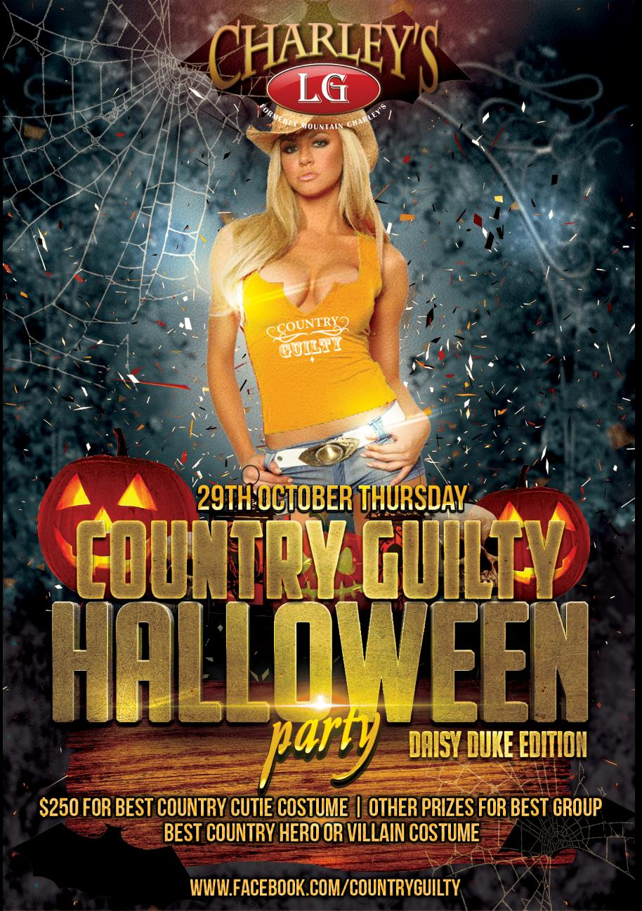 Country Guilty Halloween Party! - Los Gatos, CA - on Thu Oct 29 ...