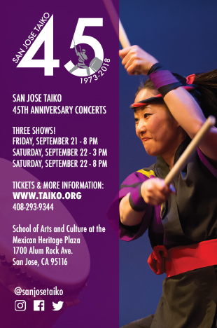 San Jose Taiko 45th Anniver...