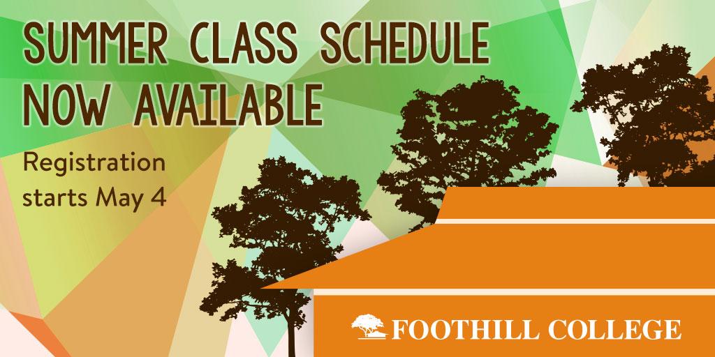 Foothill College Summer Registration Los Altos Hills Ca