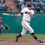 Slugger Brandon Belt has moved up to Triple A