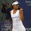 Former No.1 Ana Ivanovic was eliminatedt in the first round