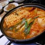 Army base soup is a Korean favorite whose secret ingredient is Spam.