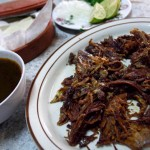 One of Mexico's most glorious dishes is birria—a stew made from goat meat.