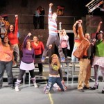 The cast of 'Rent' exudes enthusiasm at City Lights.