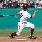 SJ Giants' Slugging Second Baseman