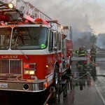 Firefighters Give Back to Trace