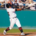 ANOTHER HIT: Michael Sandoval, brother of San Francisco Giant Pablo, joined the San Jose Giants midseason.