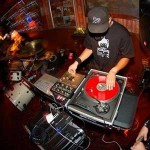 Andrew Moyco a.k.a. Audio Dru says he will keep spinning ''til the wheels fall off.' Photo: Mike Chavez.