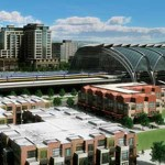 Plans for the new California High Speed Rail line include a remodeled and expanded Diridon Station.