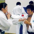TWO TOUGH: SJSU judo player Alison Clifford (left) recently returned from Tokyo, where she competed in the World Championships.