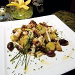 Lavanda's grilled octopus salad.
