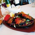 Steps of India's menu includes favorites such as chicken tikka masala and tandoori chicken.