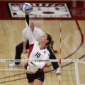 Stanford's Alix Klineman was named the Pac 10 Player of the Week for the third time following this weekend's victories.