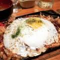 The okonomiyaki is one of the standouts on Kyora's izakaya menu.