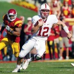 Andrew Luck led the Stanford Cardinal to victory again this past weekend.