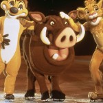 'The Lion King' characters came to skate.