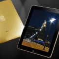 Stuart Hughes' gold and diamond encrusted iPad.