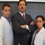 """A trio of scientists grapple with moral issues in """"Secret Order."""""""