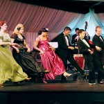 The cast of 'Stompin at the Savoy' re-creates the swing era.