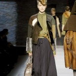 Fendi is just one high-end fashion house that is embracing midiskirts for winter 2010.