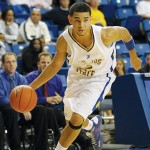 SJSU guard Adrian Oliver was fourth in nation in scoring a year ago. Photo courtesy of SJSU athletics