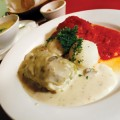Beef stuffed cabbage rolls are one of the specialties at Bona.