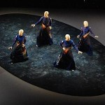 Sankai Juku performs Ankoku Butoh (loosely translated as 'dance of darkness') - a post-WWII art form - on Tuesday at Stanford.
