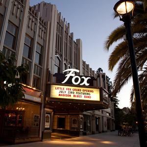 Historic Fox Theatre in Redwood City