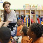 Queen Rania of Jordan will receive the prestigious James C. Morgan Global Humanitarian Award here Saturday.