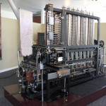 A re-creation of the 'Difference Engine,' reputed to be the worlds first computer, at Mountain View's Computer History Museum.