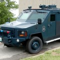 The BearCat cost the feds $285,000,and was paid for with a grant from the Department of Homeland Security.