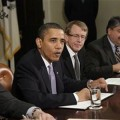 Kleiner Perkins' John Doerr chatted with Pres. Barack Obama Wednesday.