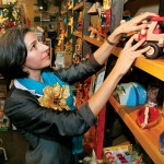 At San Jose's Treehouse in the Glen, owner Stacy Stafford Scott has found that kids still love simple toys.