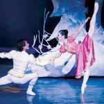 Prince Alexis (Maykel Solas) and Maria (Junna Ige) in Ballet San Jose's 'Nutcracker.'