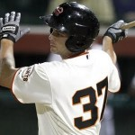 Brandon Belt, the San Francisco Giant's top prospect, could earn a spot with the club in spring training.