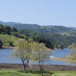 An earthquake could do serious harm to the county's water supply at Calero Lake reservoir.