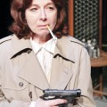 Diane Tasca plays a hard-boiled detective in Pear Avenue's new play, 'No Good Deed.'