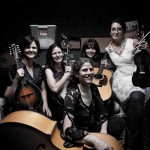 The Barefoot Nellies 'play traditional bluegrass; just a fifth higher.' (video)