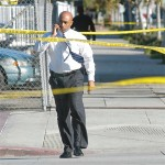 Anthony Batts, shown here at the scene of a 2006 police-officer shooting in Long Beach,  has been on a fast upward trajectory.