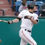 Brandon Belt had a big season last year with the San Jose Giants.