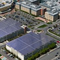 Kaiser Permanente activated the solar panels on the Santa Clara County Medical Center last Friday.