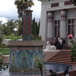 The tomb replica inside the Rosicrucian Museum makes for the ultimate in peace and quiet.