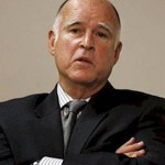 Gov. Jerry Brown's speech was short, but not too sweet.