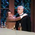 Jean Marie Perchalski and Ed Pansullo abandon their stiff upper lips in the farce 'See How They Run.'