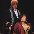 """Local elementary and high school students went to see a matinee performance of """"Barber of Seville"""" by the California Theater."""