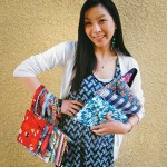 The practical meets the playful in Melinda Chu-Yang's bags.