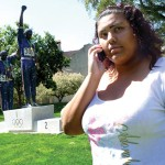 Class Act Sandra Huerta, who was inspired to attend SJSU in part by the legacy of Olympians Tommy Smith and John Carlos, fears that cuts might staunch her dream of one day teaching college.